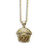 Torsade 2MM 10K Versace Homme  en or Collier MNG-280 - OR QUEBEC