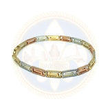 10k 7.5IN Versace Bracelet WBG-035 - OR QUEBEC