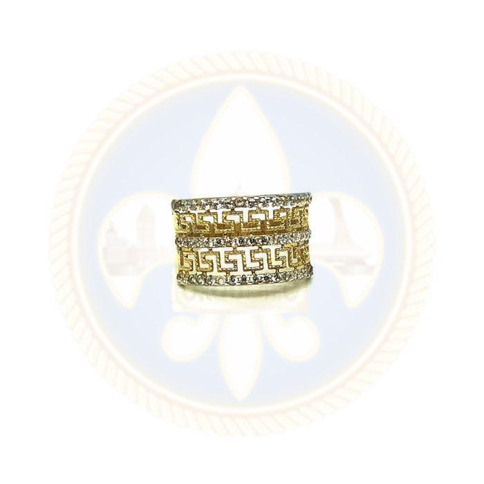 10k Bague Versace WGR-053 - OR QUEBEC