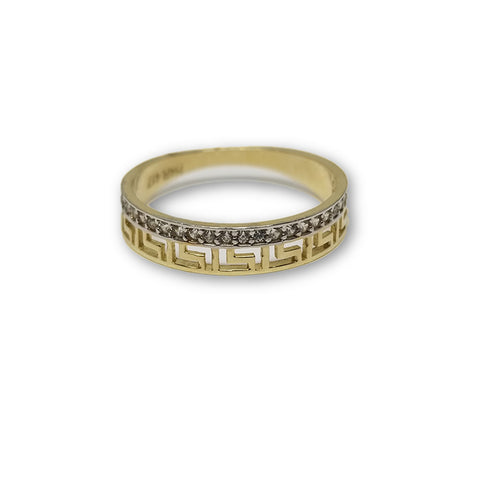 10K Or Jaune Bague Versace Femme WGR-113 - OR QUEBEC