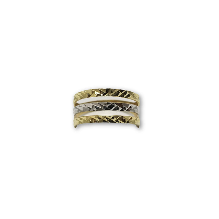 10K Or Jaune Bague Femme WGR-114 - OR QUEBEC