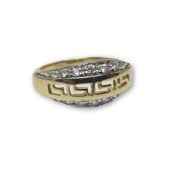 10K Or Jaune Bague Versace Femme WGR-128 - OR QUEBEC