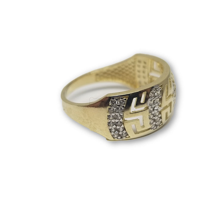 10K Or Jaune Bague Versace Femme WGR-129 - OR QUEBEC