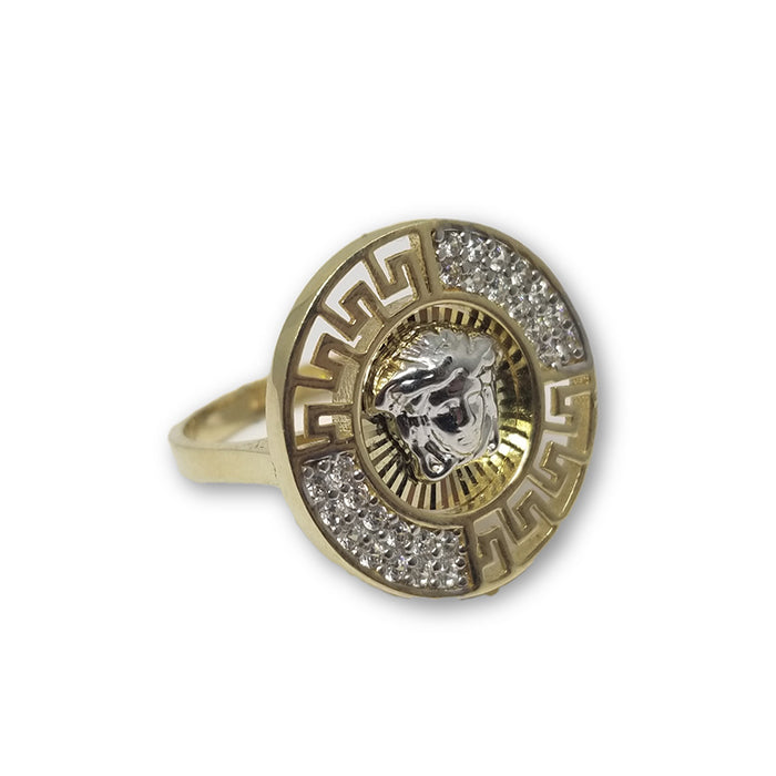 10K Or Jaune Bague Versace Femme WGR-130 - OR QUEBEC