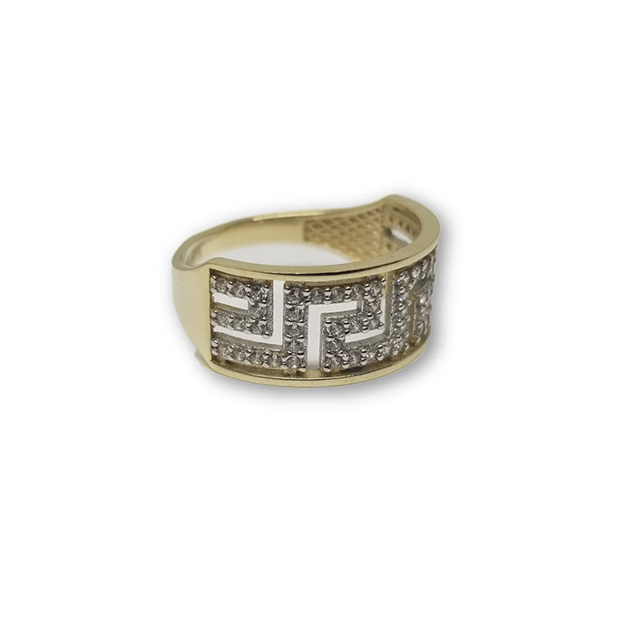 10K Or Jaune Bague Versace Femme WGR-157 - OR QUEBEC