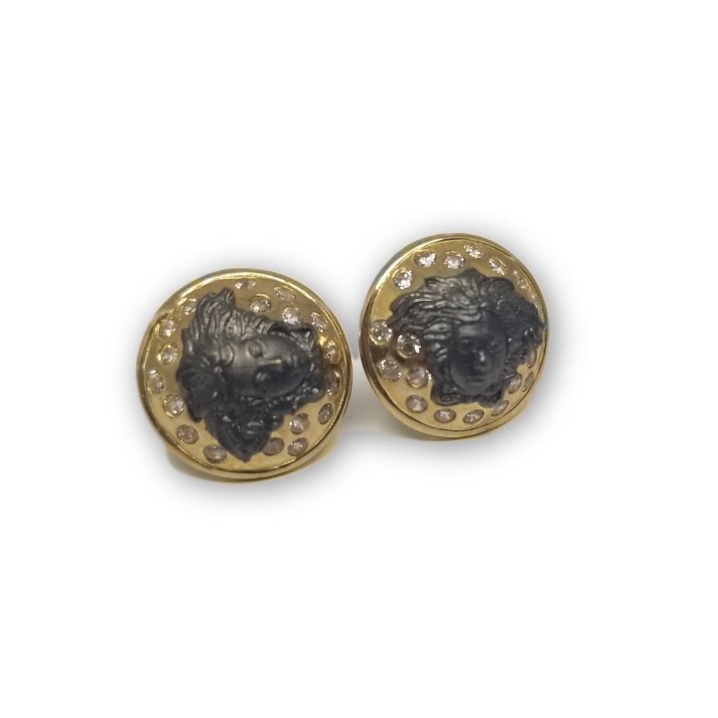 Boucle d'oreille Versace Blacky en or 10K GE-363 - OR QUEBEC