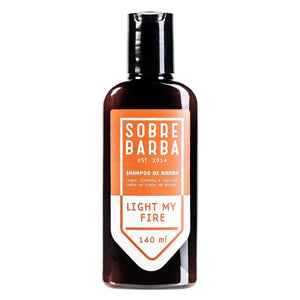 Shampoo de Barba Light My Fire Sobrebarba 140ml