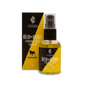 Óleo para Barba Bastards 30ml - Cia da Barba