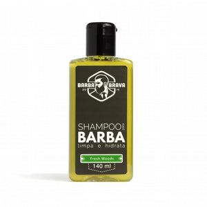 Shampoo para Barba Fresh Woods Barba Brava 140ml