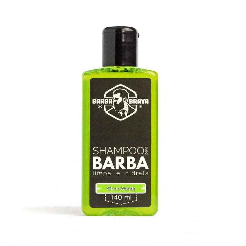 Shampoo para Barba Citrus Wood - Barba Brava