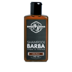 Shampoo para Barba Coffee Blend Barba Brava 140ml