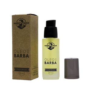 Óleo para Barba Fresh Woods 30ml - Barba Brava
