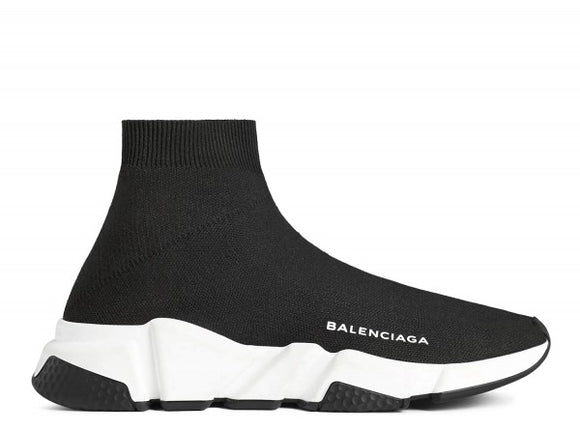 Balenciaga Speed Runner Mid Black/White
