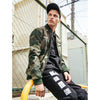 Image of Casual Bomber Camo Windproof Jacket