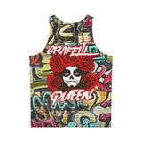 All Over Print Tank Top For Men - Graffiti Queen Tank Top