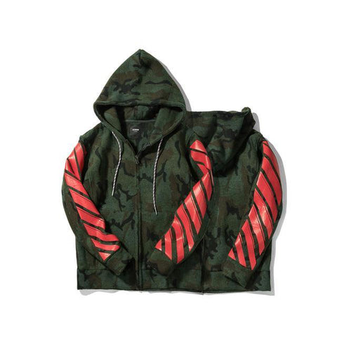 Camouflage Casual Men's Jacket