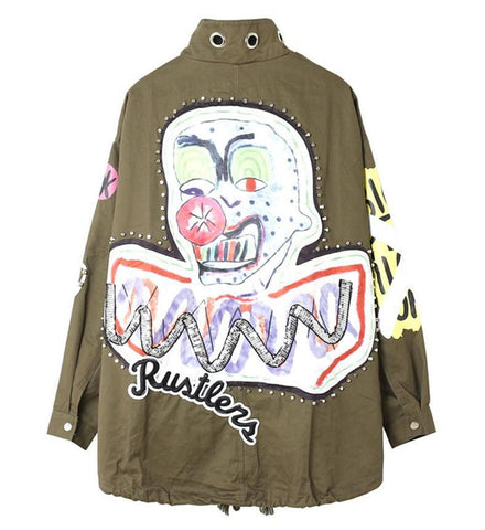 Funky Clown Joker Jacket