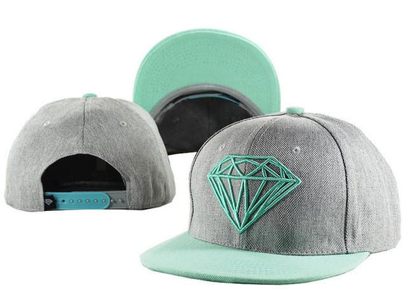 Hat - Diamond Snapback