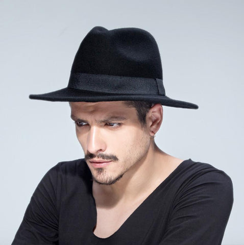 Hat - Hipster Wool Fedora Hat
