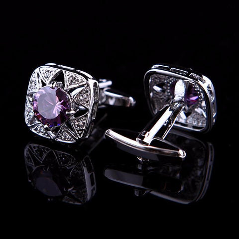 Jewelry - Crystal Star Cufflink