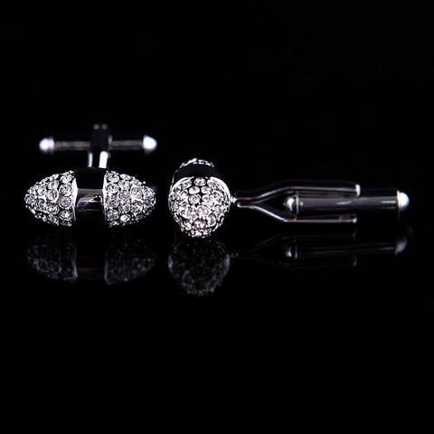 Jewelry - Dome Crystal Cufflink
