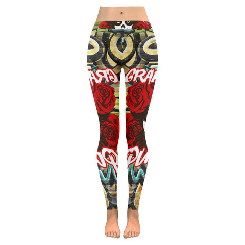 Low Rise Leggings - Graffiti Queen Leggings