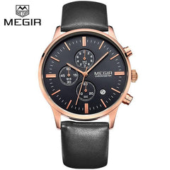 Megir Stylish Business Watch
