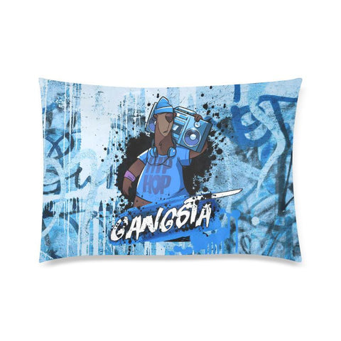 "Pillow Case 20""x30"" - Gangsta Pillow Case"