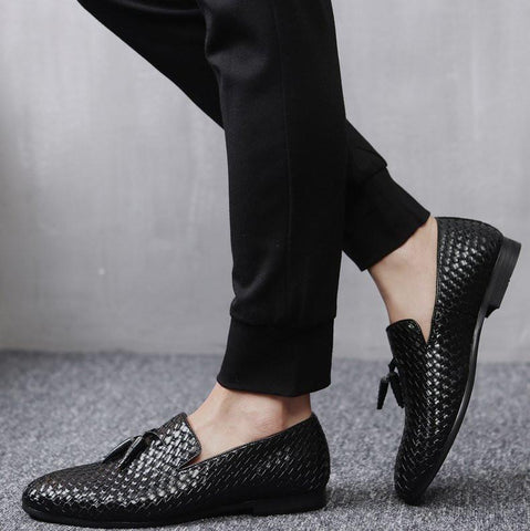 Shoes - Mens Oxford Tassel Shoes