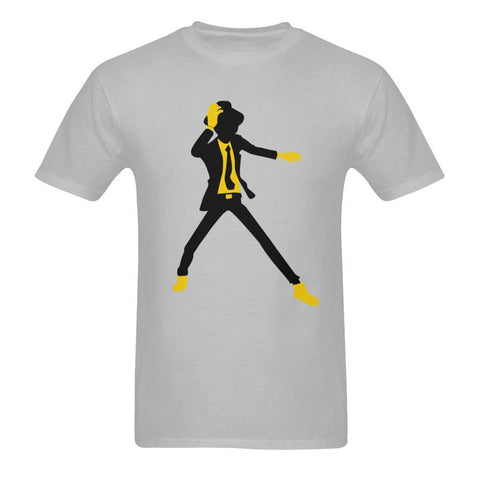Sunny T-shirt(USA Size) - Disco Dancer Silhouette Men's Tee
