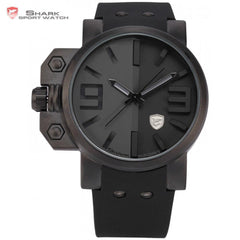 Big Face Silicone Strap Sports Watch