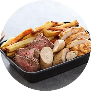 Three Protein Mixed Grill