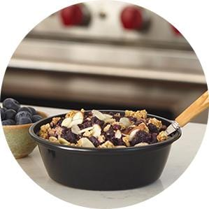 Granola Berry Bake