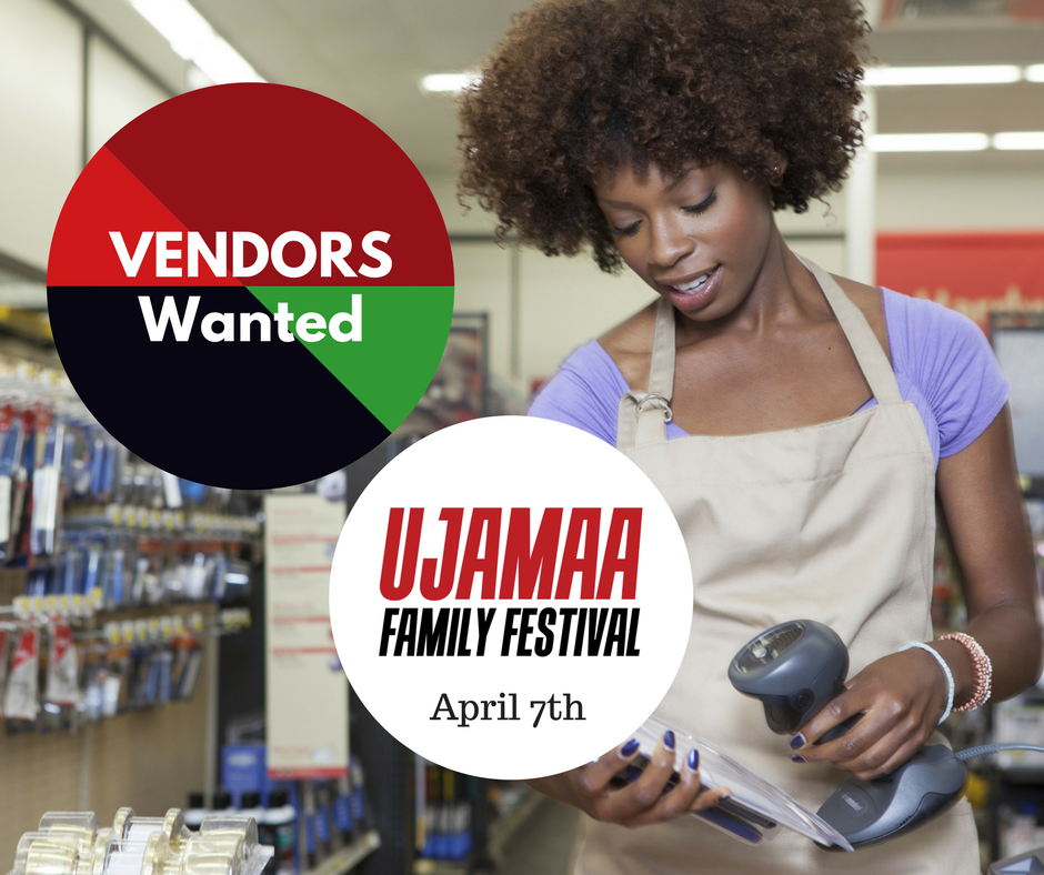 Ujamaa Family Festival - Vendor Table