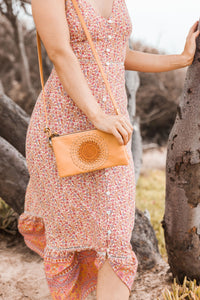 Day Tripper Clutch/Bag - Tan