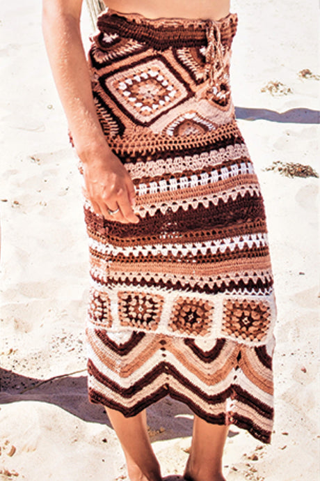 Crochet Knit Skirt