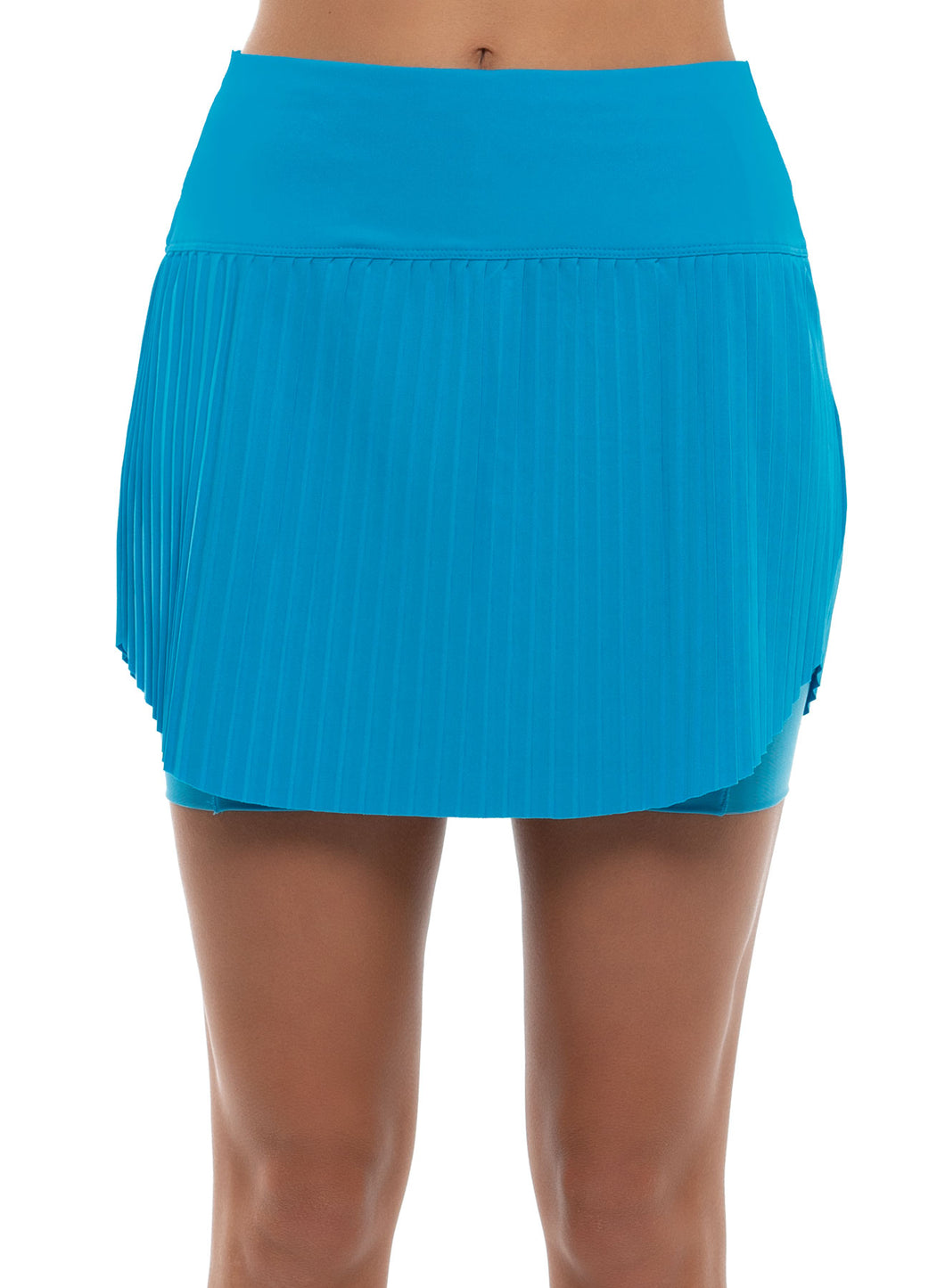 Hi-Brid Pleated Skort-Short