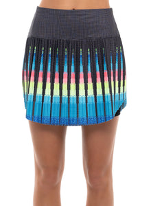 Squared Up Pleated Skort-Short