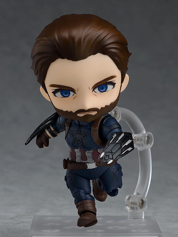 [PRE-ORDER] Nendoroid: Avengers: Infinity War - Captain America Infinity Edition Deluxe Version #923-DX