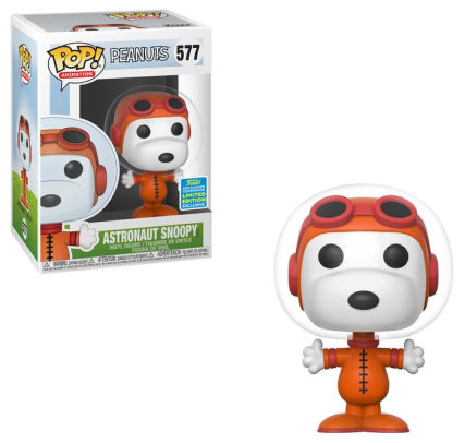 Funko POP! Peanuts - Astronaut Snoopy Vinyl Figure #577 2019 Summer Convention Exclusive (NOT 100% MINT)