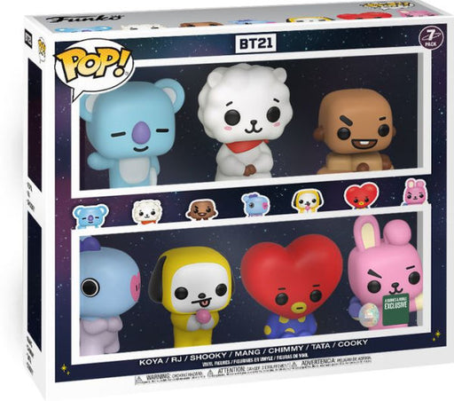 Funko POP! BT21 - 7-Pack Barnes & Noble Exclusive