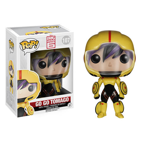 Funko POP! Big Hero 6 - Go Go Tomago Vinyl Figure #107