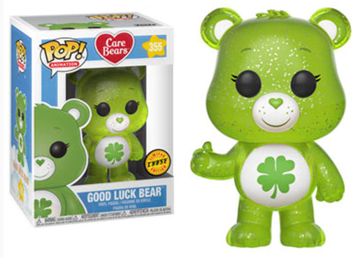 Funko POP! Care Bears - Good Luck Bear Chase Vinyl Figure #355
