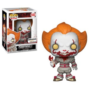 Funko POP! IT - Pennywise with Severed Arm Vinyl Figure #543 Amazon Exclusive [READ DESCRIPTION]