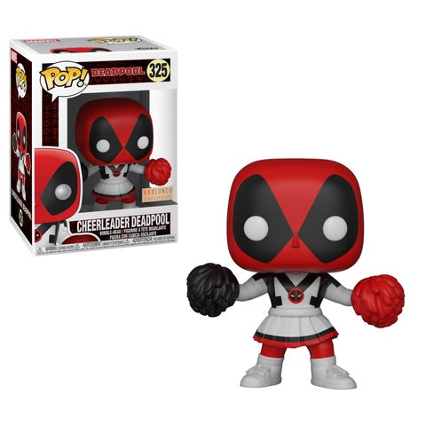 Funko POP! Deadpool - Cheerleader Deadpool Vinyl Figure #325 Box Lunch Exclusive (NOT 100% MINT)