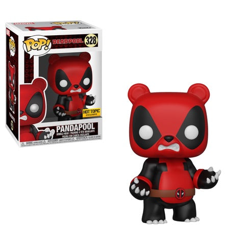 Funko POP! Deadpool - Pandapool Vinyl Figure #328 Hot Topic Exclusive (NOT 100% MINT)