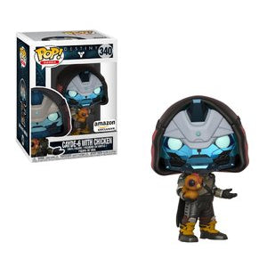 Funko POP! Destiny - Cayde-6 with Chicken Vinyl Figure #340 Amazon Exclusive (NOT 100% MINT)