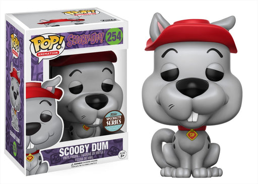 Funko POP! Scooby-Doo - Scooby Dum Vinyl Figure #254 Specialty Series