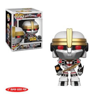 Funko POP! Power Rangers - White Tigerzord 6-Inch Vinyl Figure #668 Hot Topic Exclusive [READ DESCRIPTION]