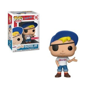 Funko POP! Ad Icon - Bazooka Joe Vinyl Figure #19 Target Exclusive [READ DESCRIPTION]